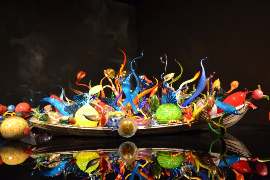 Chihuly Garden + Glass in Seattle