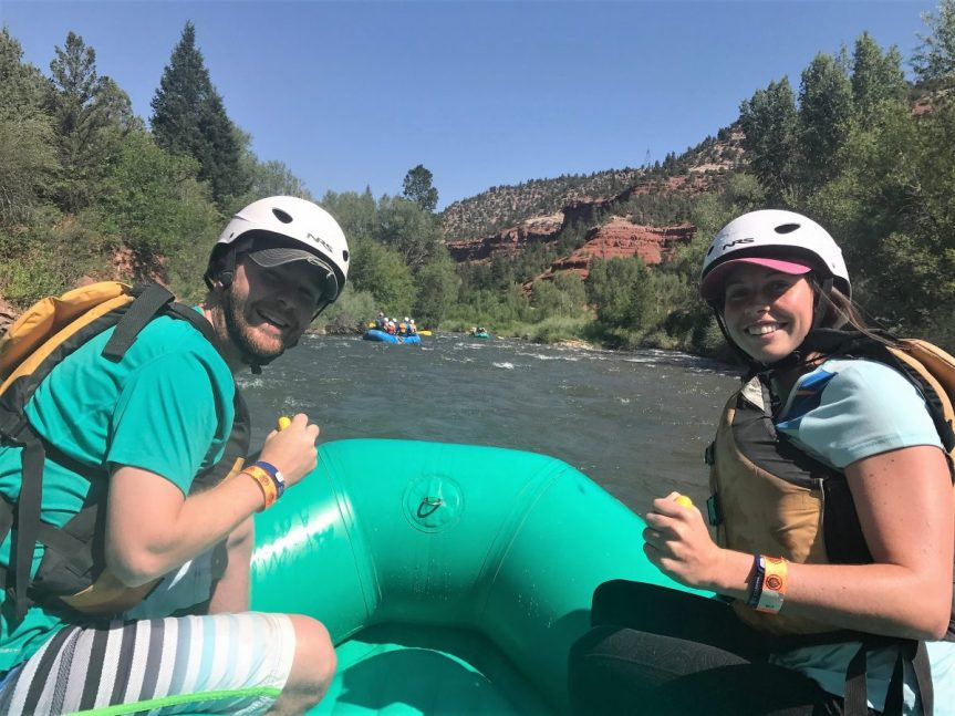 White Water Rafting in Telluride