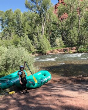White water rafting in Telluride, CO